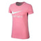 Women's Short Sleeve T-Shirt Nike NSW TEE JDI Pink