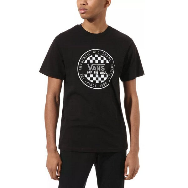 Men's Short Sleeve T-Shirt Vans OG CHECKER SS Black