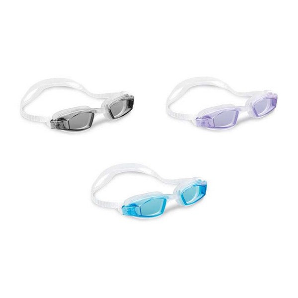 Children's Swimming Goggles Free Style Latex Intex