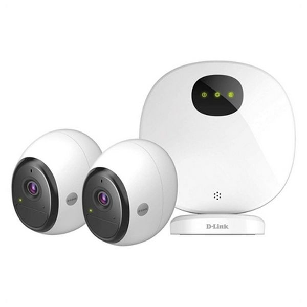 Alarm System D-Link DCS-2802KT Full HD (3 pcs) White