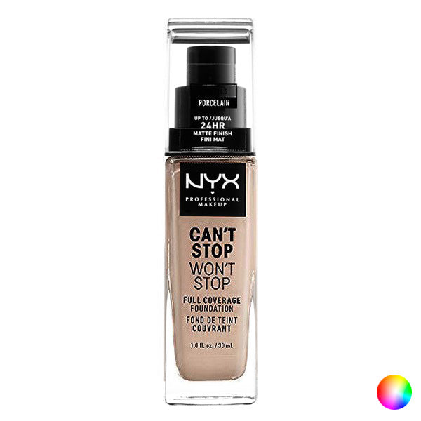Liquid Make Up Base Can't Stop Won't Stop NYX (30 ml)