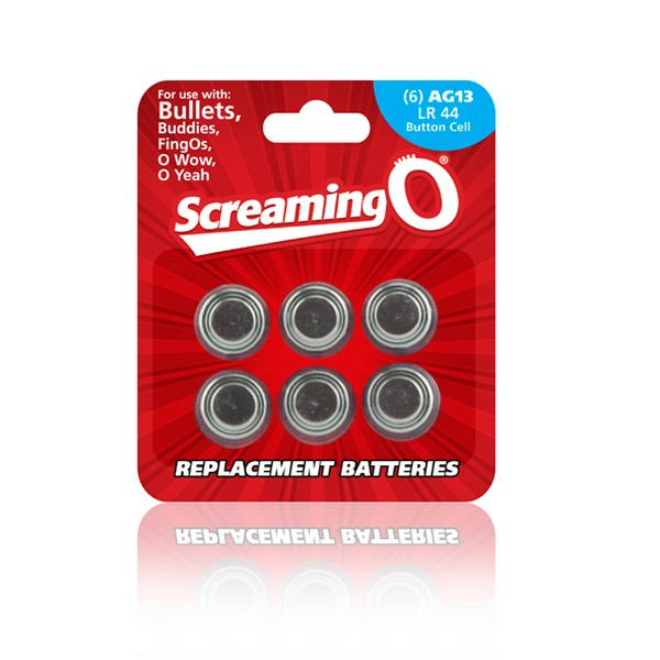 Pack of Batteries AG13 (6 units) The Screaming O BAT6-110B