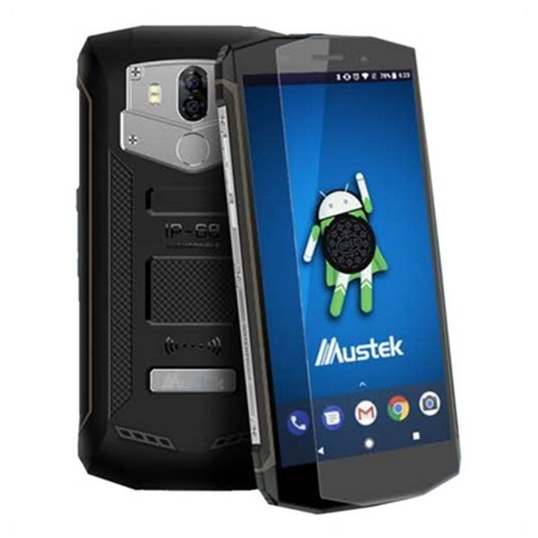 "PDA Mustek MK7000PRO 5,5"" Quad Core 2 GB RAM 16 GB Black"