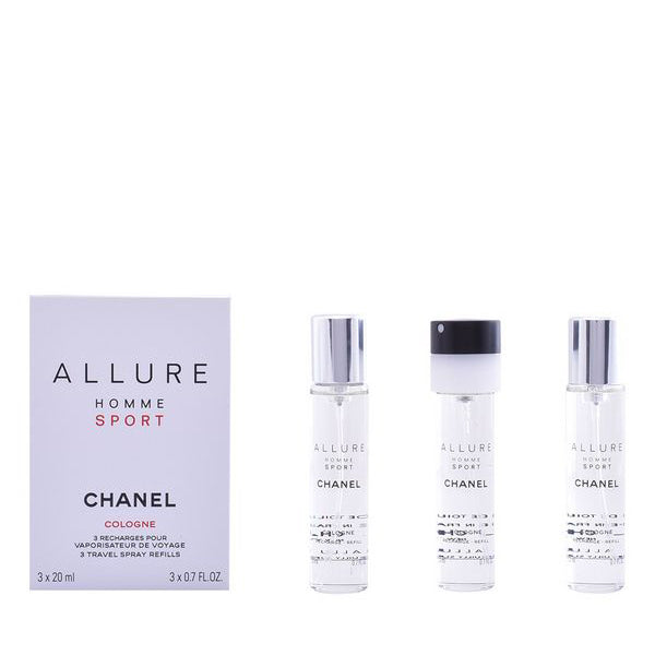 Men's Perfume Allure Homme Sport Cologne 3 Chanel EDC (3 pcs)