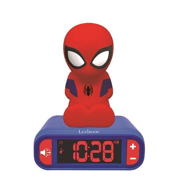 Clock-Radio Spiderman
