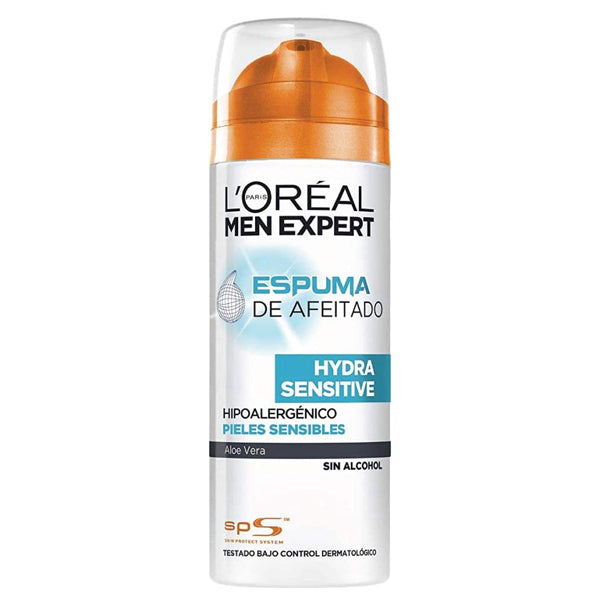 Shaving Foam Men Expert Hydra Sensitive L'Oreal Make Up (200 ml)