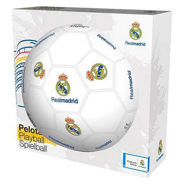 Football Real Madrid C.F. (Ø 23 cm) White