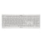 French Keyboard Cherry JK-0800FR-0 USB AZERTY White