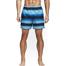 Men's Bathing Costume Adidas Stripe Sh Sl Black Blue (Size xl)