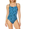 Women's Bathing Costume Adidas PER+1PC LIN Blue