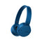 Bluetooth Headphones Sony WHCH500L NFC Blue