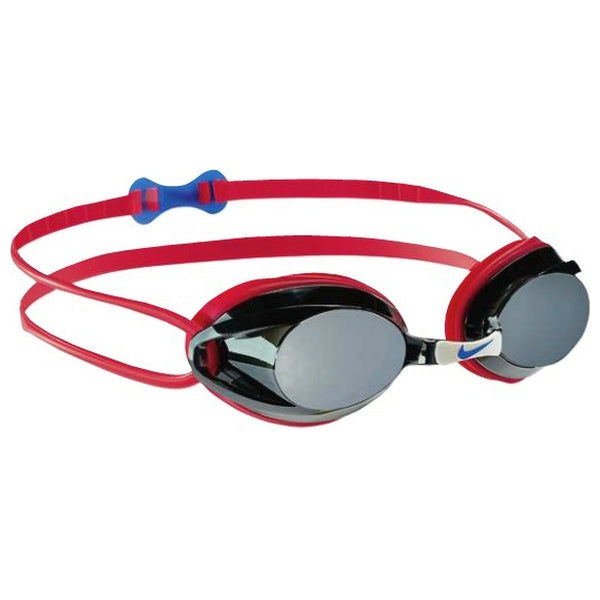Adult Swimming Goggles Nike 93011-627 Red (One size)