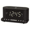 "Clock-Radio with Wireless Charger Denver Electronics CRQ-110 12"" LED USB Black"