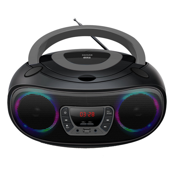 Radio CD Bluetooth MP3 Denver Electronics TCL-212 4W Grey