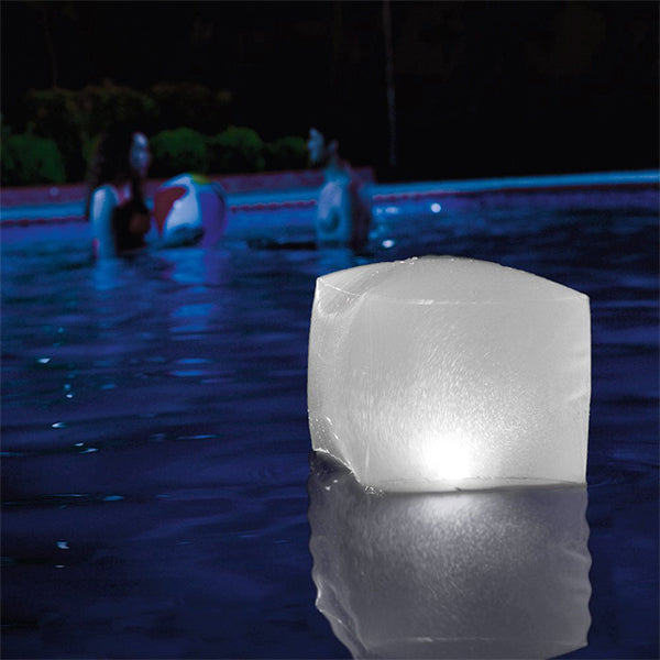 Inflatable LED Cube for Swimming Pool Intex