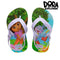 Flip Flops for Children Dupé Super Dora Blue