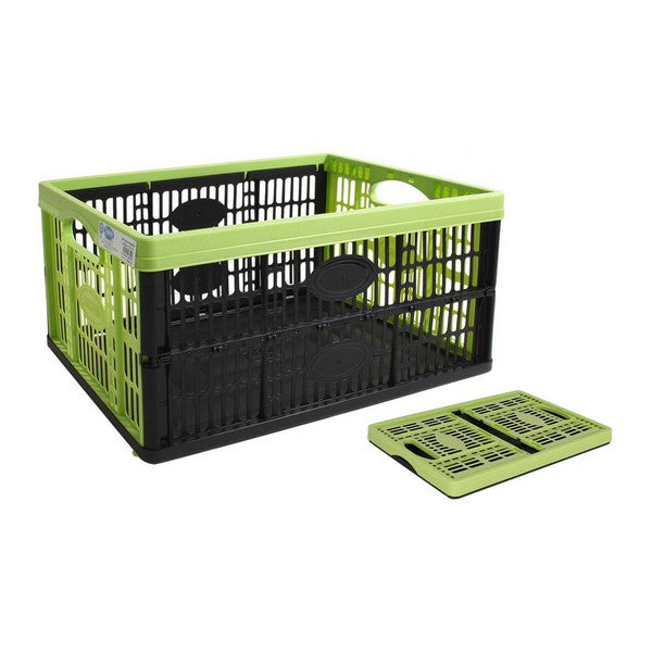Multi-use Box Tontarelli Voilà Foldable Black Green (47,5 x 35 x 23,6 cm)