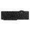 Keyboard with Reader Ewent EW3252 DNI Black (Spanish)