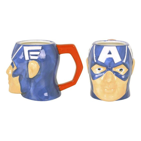 Ceramic Mug Captain America 410 ml