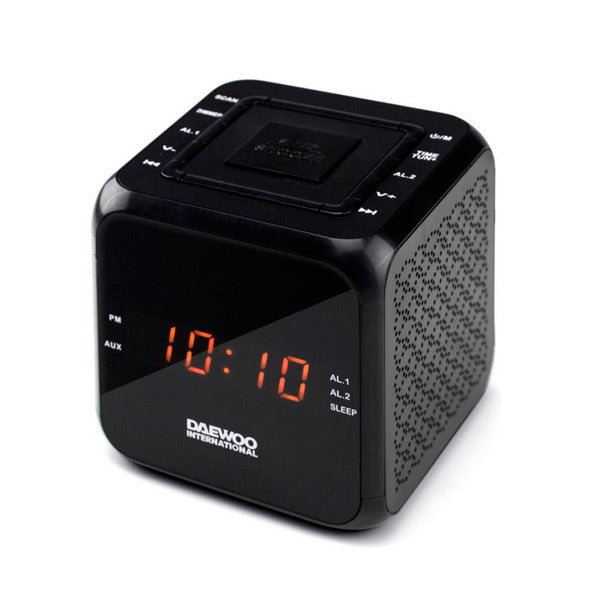 Clock-Radio Daewoo DCR-450 Black