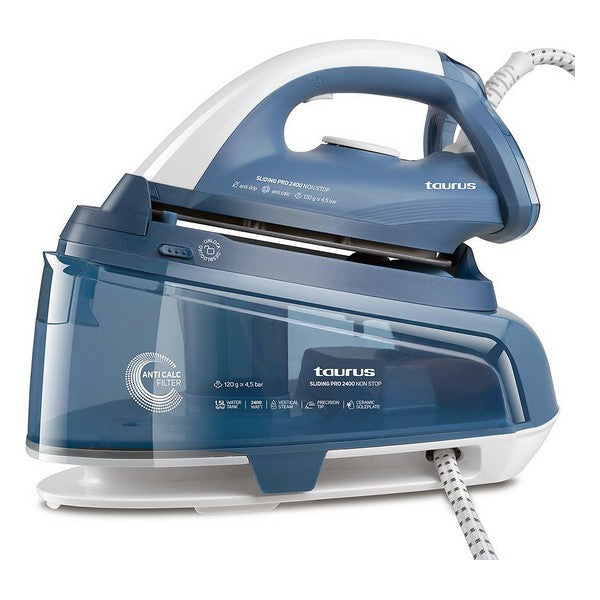 Steam Generating Iron Taurus PRO2400 1,5 L 2400W Blue