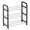 Shoe Rack Quid Cotton Enamelled Steel