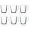 Set of Mugs Luminarc (6 pcs) 25 cl