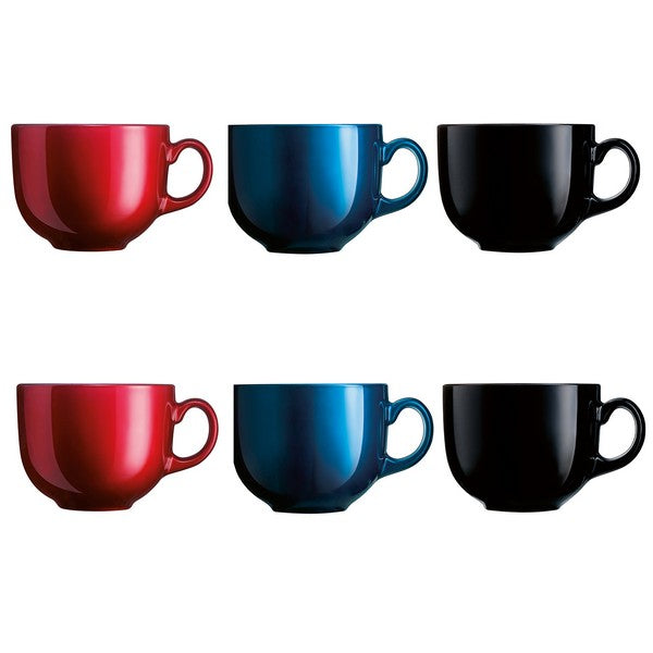 Set of Mugs Luminarc Flashy 0,5 L (6 pcs)