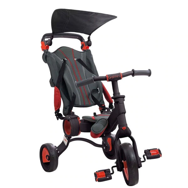 Tricycle Toimsa Galileo Foldable Red Black