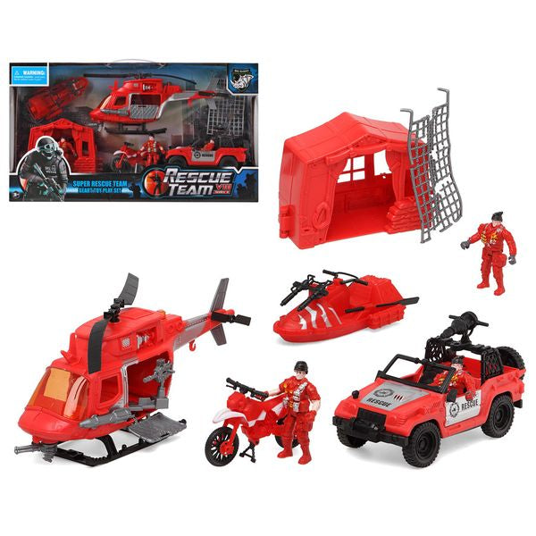Rescue team set (9 pcs)