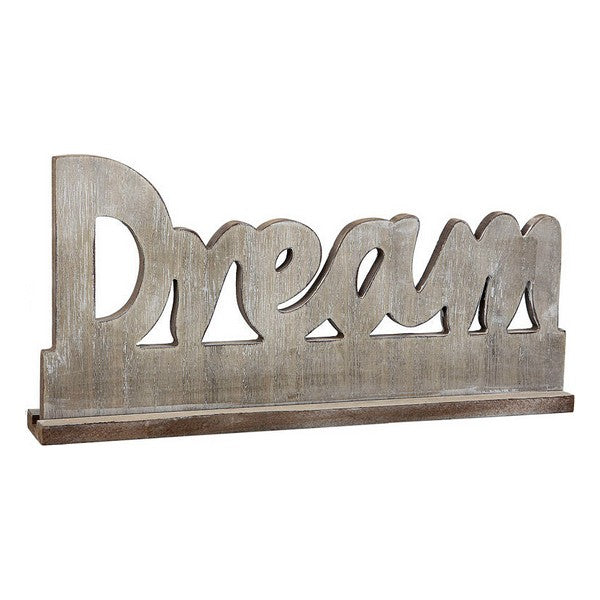 Wooden Sign Dream 110792