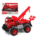 Crane Lorry City Fire 119022 Red