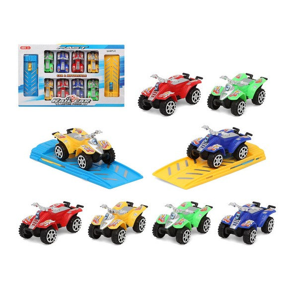 Set of cars Fast Quad 111254 (10 pcs) 111254