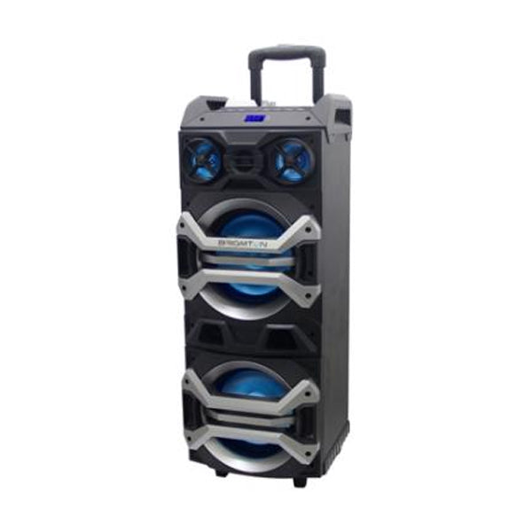 Bluetooth Speakers BRIGMTON BAP900 FM LED 900W Black
