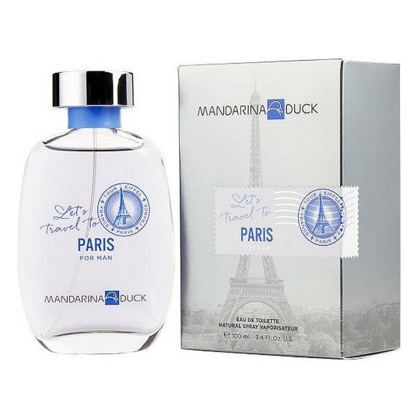Men's Perfume Let's Travel Paris Mandarina Duck EDT (100 ml)