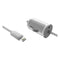 Car Charger Contact 1A Lightning White