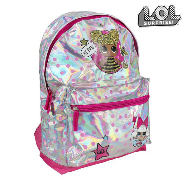 School Bag LOL Surprise! 7714 Silver Pink