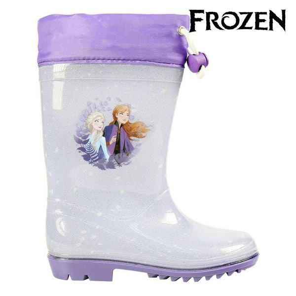 Children's Water Boots Frozen 74081 Lilac Silver
