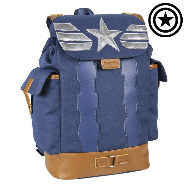 Casual Backpack The Avengers Blue