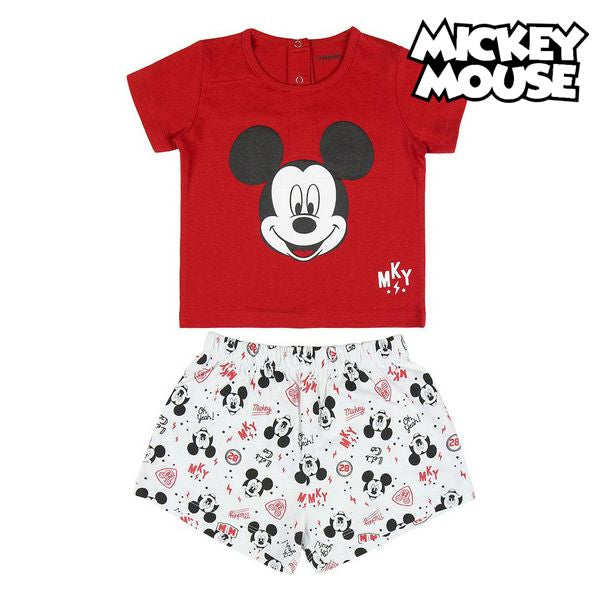 Summer Pyjama Mickey Mouse Red