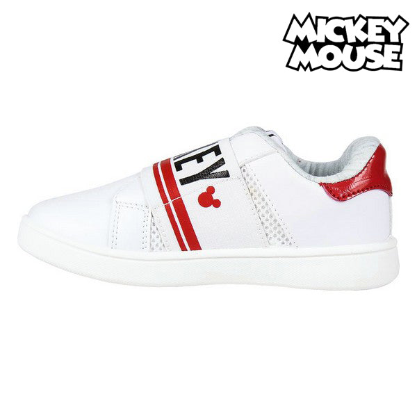 Sports Shoes for Kids Mickey Mouse White