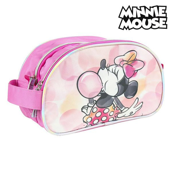 School Toilet Bag Minnie Mouse Pink