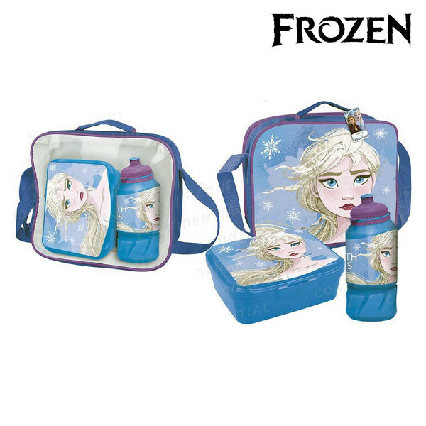 Lunchbox with Accessories Frozen Blue