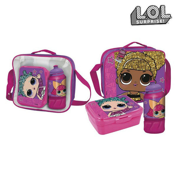 Lunchbox with Accessories LOL Surprise! Fuchsia