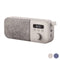 Portable Digital Radio Energy Sistem Fabric Box FM 1200 mAh 3W