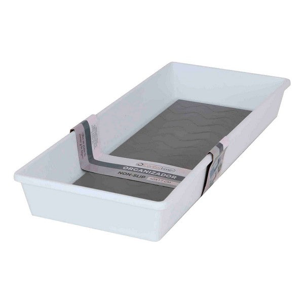 Multi-Purpose Organiser Non-slip Confortime White