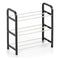 Shoe Rack Confortime 3 Shelves Black (40 X 19 x 42 cm)