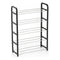 Shoe Rack Confortime 5 Shelves Black (50 X 19 x 68 cm)