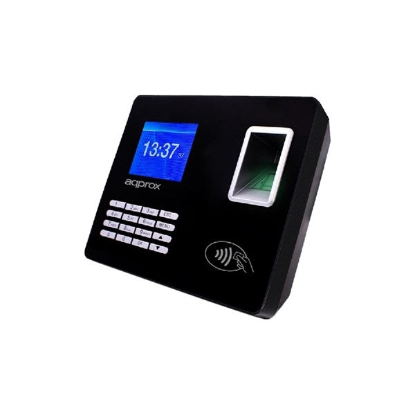 "System for Biometric Access Control approx! APPATTENDANCE02 2,8"" TFT USB LAN Black"