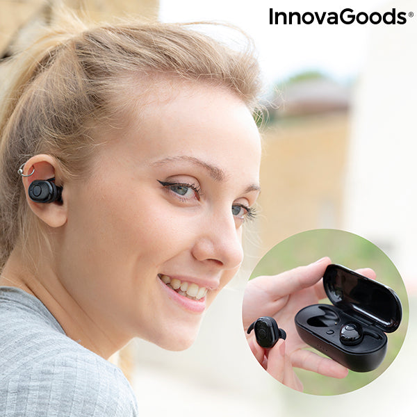 Wireless Headphones with Magnetic Charging eBeats InnovaGoods